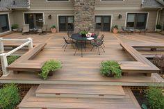 Terrasse en bois - 75 idées pour une déco moderne                                                                                                                                                                                 Plus