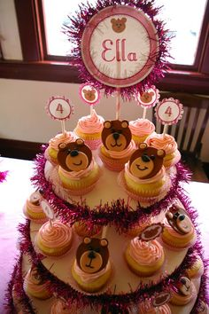 Emmy's Events: Ella's Teddy Bear Birthday Party!