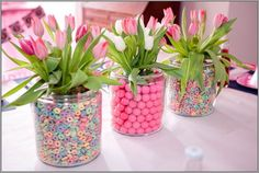 Creative Mothers Day Table Centerpiece Decoration Ideas