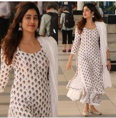Indian Dresses, Indian Outfits, Indian Clothes, Pakistani Dresses, Ethnic Clothes, Desi Clothes, Plazzo Pants, Kurti Pants, Kurtis With Pants