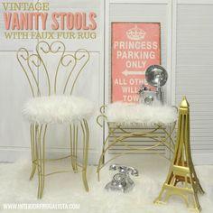 Vanity Stools Makeov