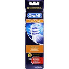 ORAL B TriZone Aufsteckbürsten 3er:   Packungsinhalt: 3 St Zahnbürste PZN: 10763012 Hersteller: Procter & Gamble GmbH Preis: 15,49 EUR…