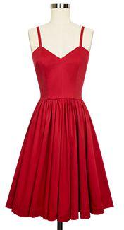 Trashy Diva Ruby Middy Dress cg-d3190-redstretch