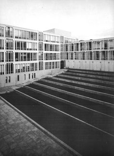 University of Essex, Wivenhoe Park, England, 1963-72 (Kenneth Capon of Architects Co-Partnership)