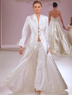 1000 images about bridal trouser suits on pinterest for Lesbian wedding dresses and suits