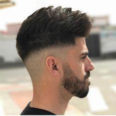 New Men& Hairstyles + Haircuts New Men& Hairstyles + Haircuts 2017 New Men Hairstyles, Haircuts For Men, Hair And Beard Styles, Curly Hair Styles, Faded Hair, Types Of Fade Haircut, Short Hair Cuts, Medium Hair Styles, New Hair