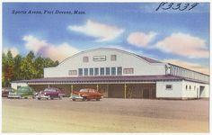 Sports Arena, Fort Devens, Mass., via Flickr.