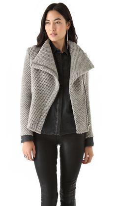 Inspiration for Butterick 6169: IRO Kristen Honeycomb Moto Jacket