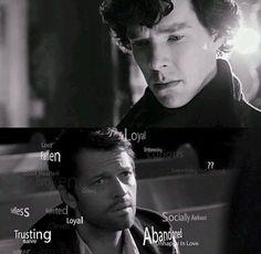 Sherlock deduces Cas