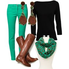 pop of color makes it perrrfect - Polyvore