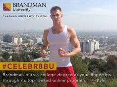 #Celebr8BU at Runyon Canyon