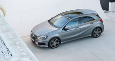 Is the new A-class the best looking premium hatch on the market?