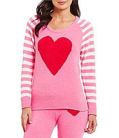Betsey Johnson Cozy Sweater Raglan Top #Dillards