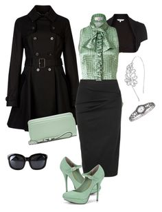 """""""Mint"""" by summrlynn ❤ liked on Polyvore"""
