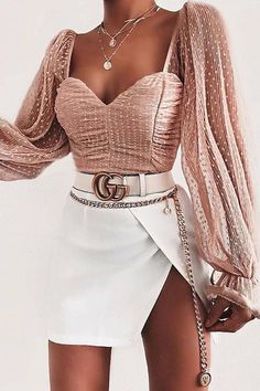 Oufit outfitideas outfitinspo outfitinspiration outfitdetails source by minchevamira fancy outfits 35 fabulous fall women outfits ideas to wear at school Teen Fashion Outfits, Mode Outfits, Girly Outfits, Cute Casual Outfits, Look Fashion, Pretty Outfits, Stylish Outfits, Fashion Ideas, Fashion Clothes
