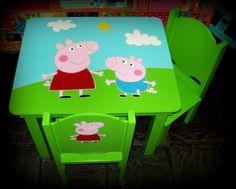 Mesas Y Sillas Infantiles, Decoracion, Moviliario Infantil!! - $ 1.100,00 en MercadoLibre