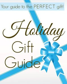 Best Holiday Gift Guide 2015 @The Modest Mom