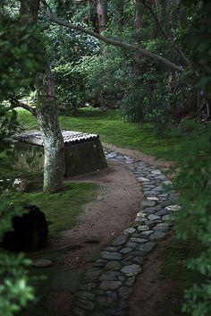 Beautiful Japanese Garden,' Ōkōchi Sansō (period film actor Denjirō Ōkōchi's villa), Arashiyama, Kyoto, Japan   Toshi, on Flickr.