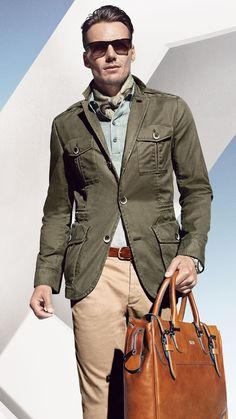 Hugo Boss   Men's Fashion   Menswear   Men's   Outfit for Spring/Summer   Business Casual   Moda Masculina   Shop at designerclothingfans.com