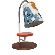 Orla-Kiely-Bark-Rhododendron-Multi-Color-Task-Lamp-NWT-Very-Rare-Retro-Lamp