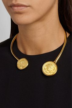 Kenneth Jay LaneGold-Plated Necklace