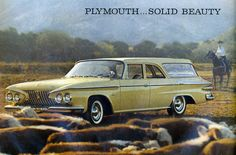 1961 Plymouth Station Wagon