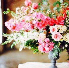Close up of a beautiful flower arrangement