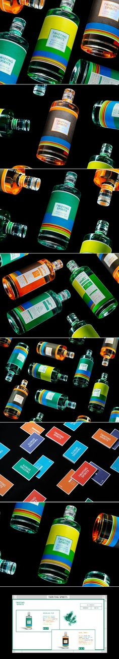 These Colorful Spirits Are Sure to Catch Your Eye — The Dieline   Packaging & Branding Design & Innovation News
