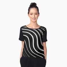 Chiffon Top by dahleea Cotton Tote Bags, 2d, Chiffon Tops, Stuff To Buy, Fashion, Moda, La Mode, Fasion, Fashion Models