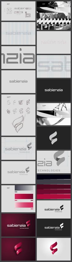Sabienzia/// Sabienzia is a dynamic and international enterprise that combines a team with more than 20 years of expertise in the area of teleworking, unified communication and virtualization. And they needed a logo that represents them in an appropiate way. #branding #identity #logo #graphic #design #print #brand
