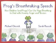 Frog is very worried as he has an important speech to make at his school assembly. The speech is about breathing and he doesn't know a thing about it! He asks his friends for help and they teach him all about the lion breath, the crocodile breath, the humming bee breath and the woodchopper breath. Can any of these breathing techniques calm his nerves before the big speech? This charming illustrated picture book teaches children four yoga breathing techniques in a fun and interactive way. The…