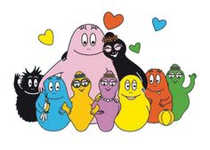 """Barbapapa /// both the title character, and name of the """"species"""" of said character, of a series of children's books written in the They change shape to anything they want, which is the coolest thing ever! 1970s Childhood, My Childhood Memories, Sweet Memories, Holly Hobbie, Nostalgia, Montage Photo, Cute Embroidery, Coloring Book Pages, Retro"""