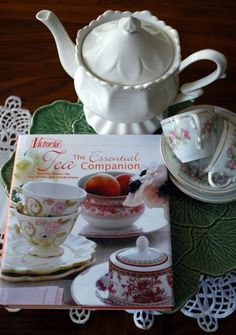 The Essential Tea Companion. Favorite Menus for Tea Parties and Celebrations by freida