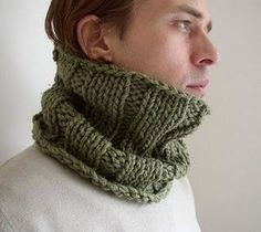 It says Man Cowl, but I really like this! Looks so comfy and warm! Sunflower Tattoo Design, D 20, Viking Tattoos, Cowl Scarf, Matching Couples, Homemade Beauty Products, Green Man, Neck Warmer, Tulum