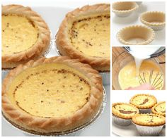 You will love this Individual Custard Tarts Recipe and it's easy to make when you know how. Watch the video tutorial now.