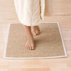 natural vetiver bath mat