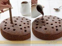Poke cake al cioccolato passaggi ricetta