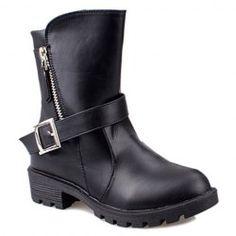 b7b49abd439e Fashion boots Fashion boots with zipper BRAND NEW Shoes Combat   Moto Boots