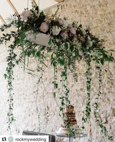 Elegant Summer Wedding at Notley Abbey with Pronovias Wedding Dress Hanging Flowers Wedding, Wedding Flower Arrangements, Floral Arrangements, Wedding Bouquets, Botanical Wedding Theme, Floral Wedding, Wedding Table Centerpieces, Wedding Decorations, Floral Decorations