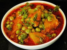 Aalo Matar and vegetables, which are made easily and immediately, are often made in all houses. Let us and you together make a delicious Aalo Matar. Indian Food Recipes, Vegetarian Recipes, Indian Foods, Ethnic Recipes, Ramen Noodle Soup, Party Dishes, Food Videos, Recipe Videos, Thing 1