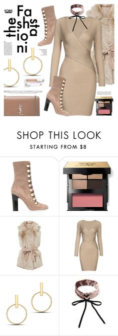 """""""The Fashionista - Yoins"""" by defivirda ❤ liked on Polyvore featuring Jimmy Choo, Bobbi Brown Cosmetics and Yves Saint Laurent"""