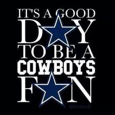 It's a good day to be a Cowboys F☆N!
