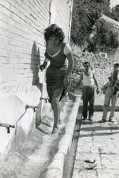 Sexy Gina Lollobrigida LA Legge LA LOI 1959 Vintage Photo Original Leggy | eBay