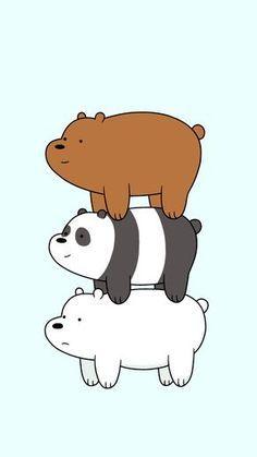 we bare bears cartoon cartoon network panda lockscreen wallpaper grizz bear We Bare Bears Wallpapers, Panda Wallpapers, Cute Cartoon Wallpapers, Cute Disney Wallpaper, Kawaii Wallpaper, Cute Wallpaper Backgrounds, Ice Bear We Bare Bears, We Bear, Anime Panda