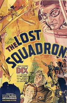 The List Squadron (1932) starring Richard Dix, Mary Astor, Joel McCrea and Robert Armstrong