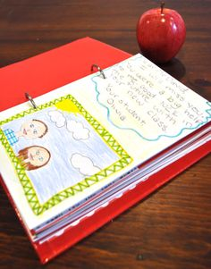 Another student teacher appreciation gift from class. A book with the students letters in a binder. Something you can treasure forever.