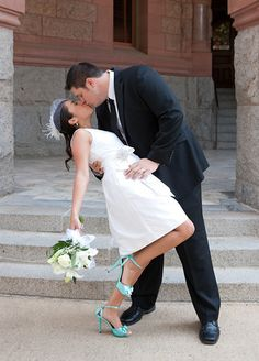 The kiss <3 - Courthouse wedding