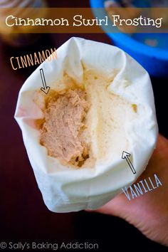 How to make Cinnamon Swirl Frosting ~ This stuff is so good!