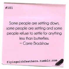 """To those people who think SATC is """"just about sex""""....it's all about loving yourself and friendship <3"""