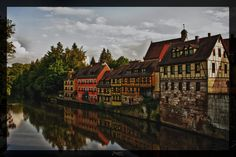 Houses at the river by deaconfrost78 on DeviantArt